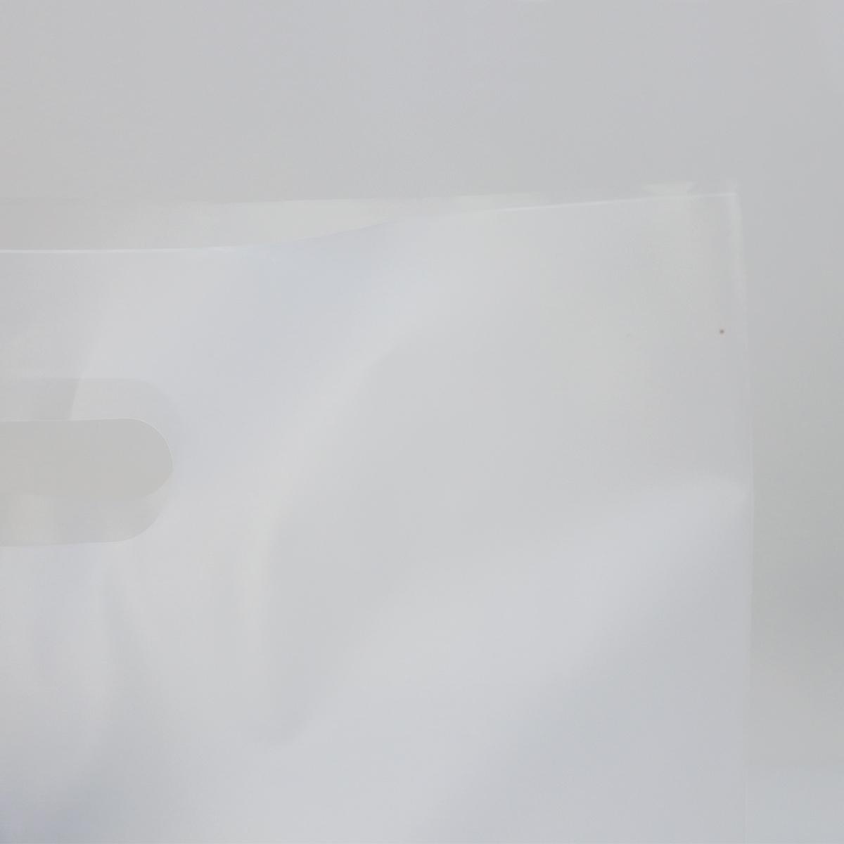 Budget plastic tassen - Semi transparant