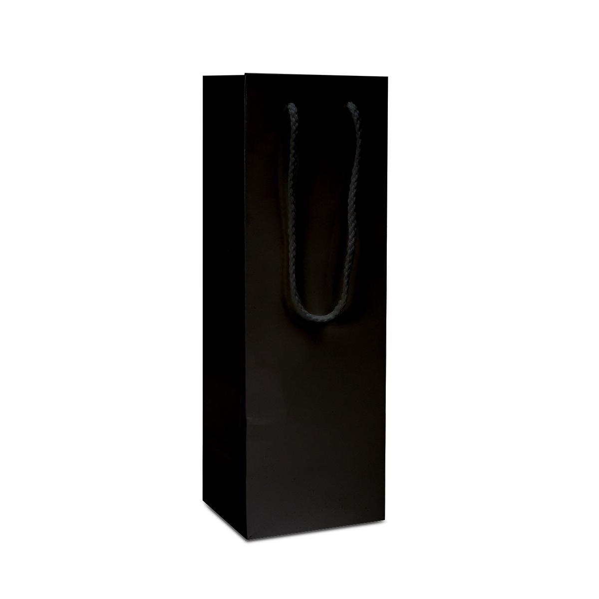 Luxe papieren wijnflestassen - Glanzend
