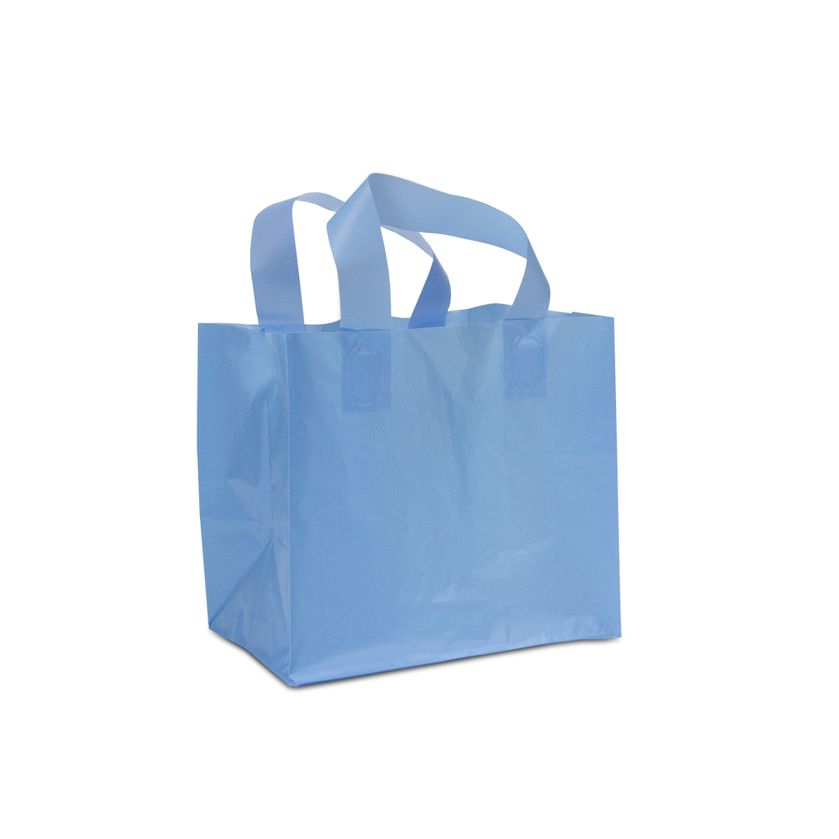 Plastic take away tassen