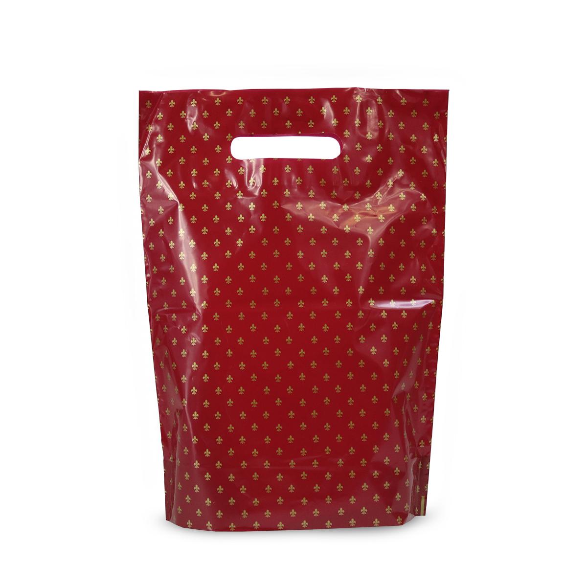 Budget plastic tassen - Franse lelie