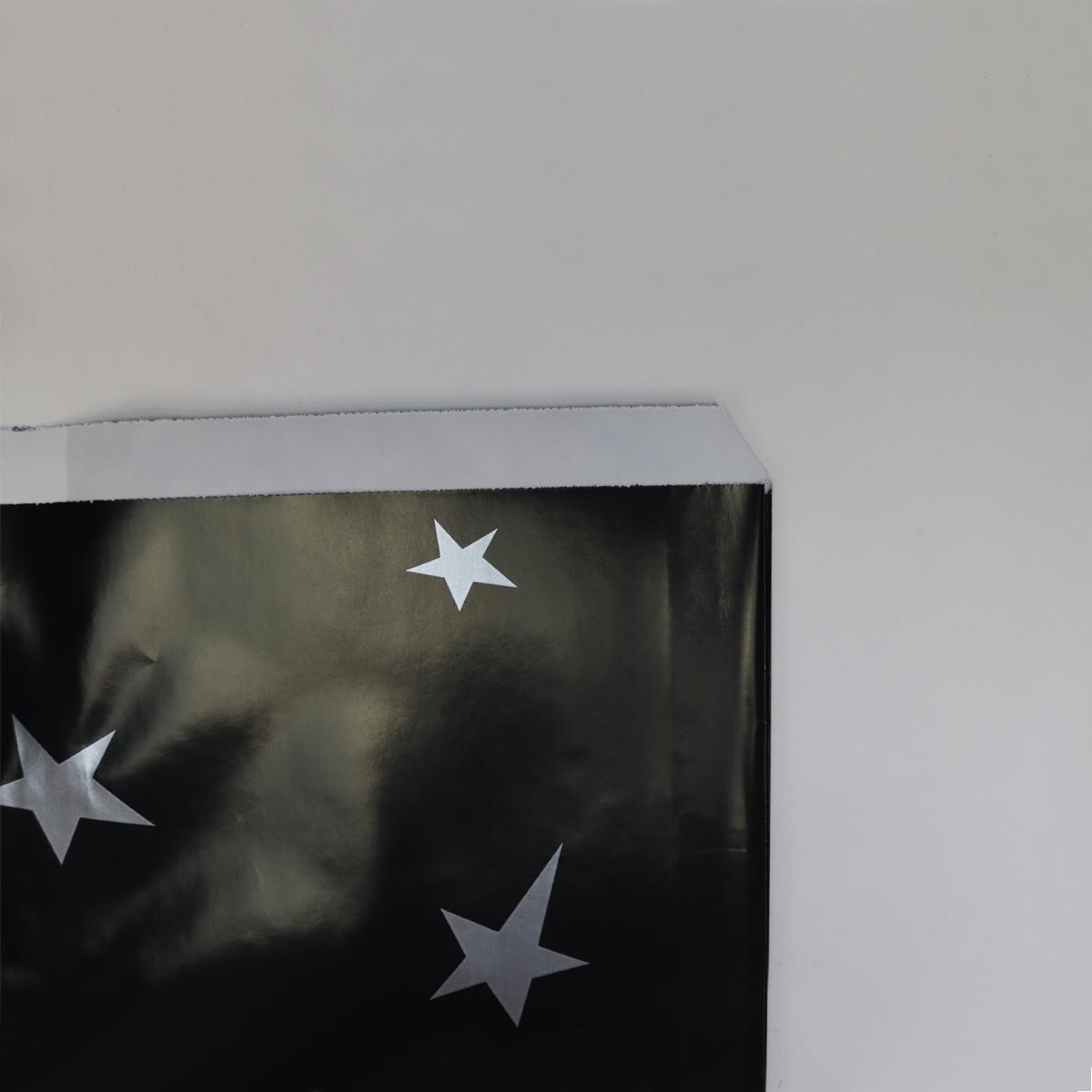 Fourniturenzakjes - Zwart met ster