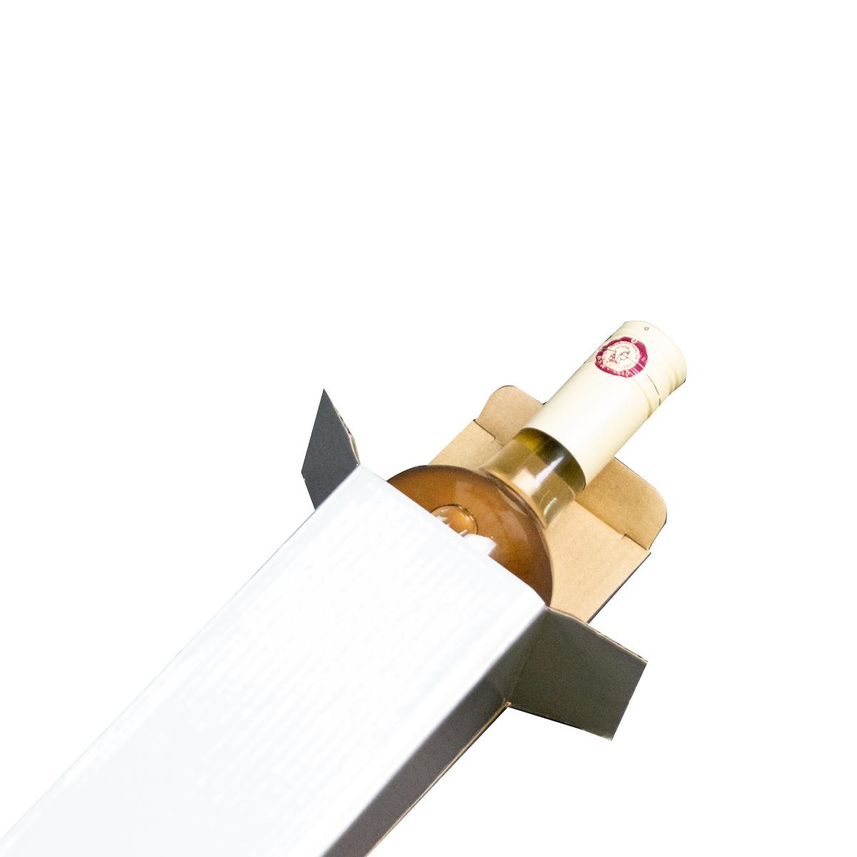 Kartonnen wijnflesdozen