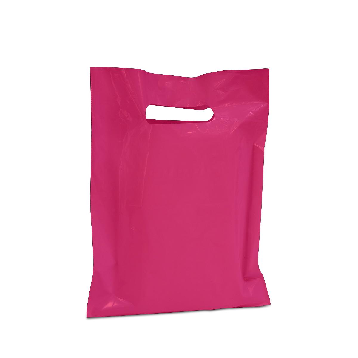 Budget plastic tassen - Effen kleuren