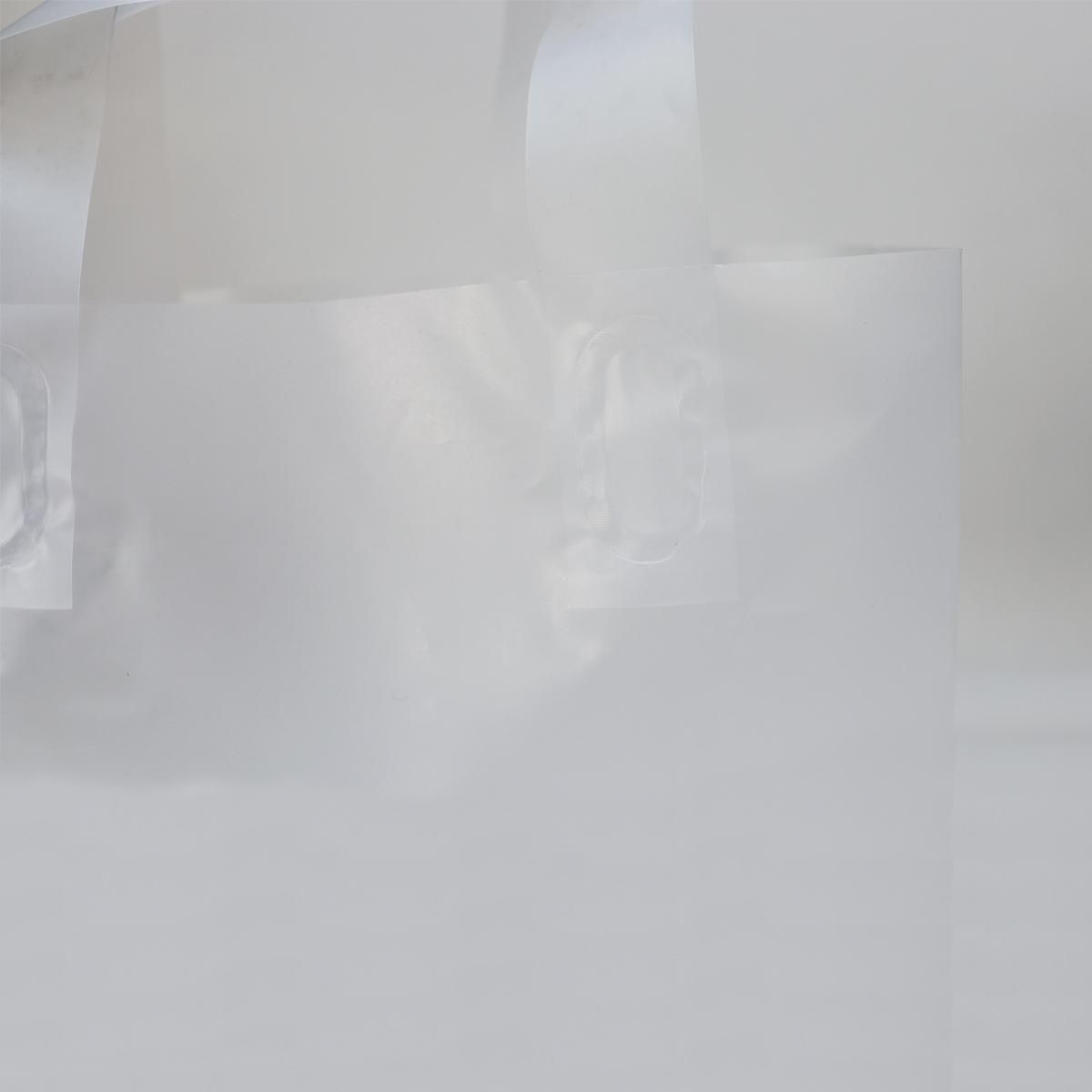 Plastic blokbodemtassen - Semi transparant