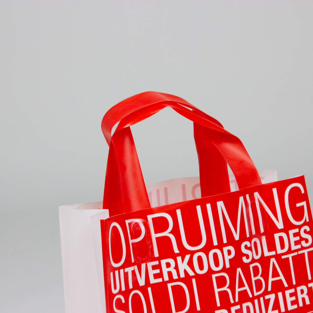 Plastic blokbodemtassen - Sale