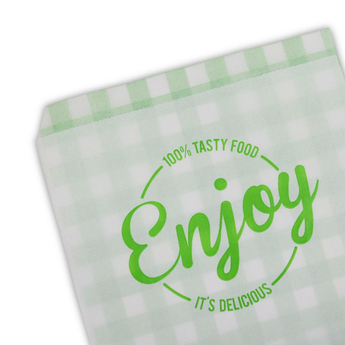 Papieren inpakzakken - Enjoy