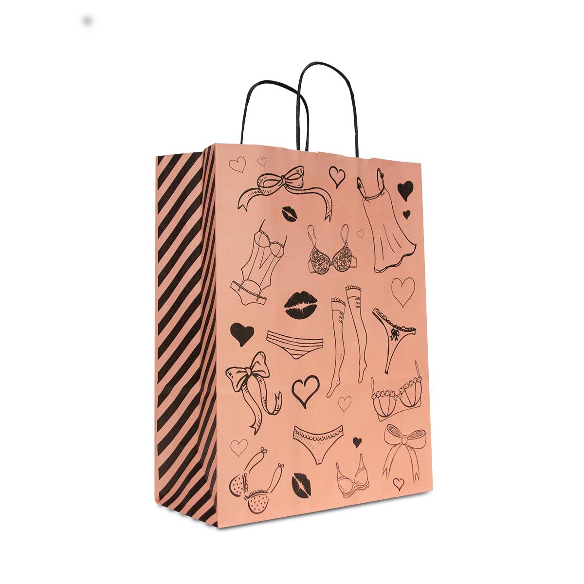 Twisted papieren tassen - Lingerie