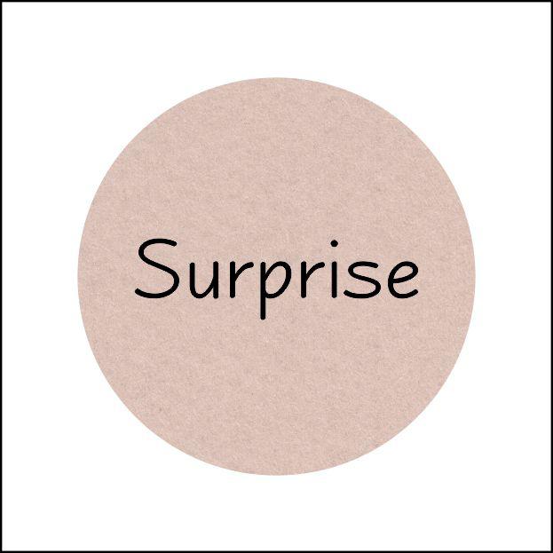 Etiketten - Surprise