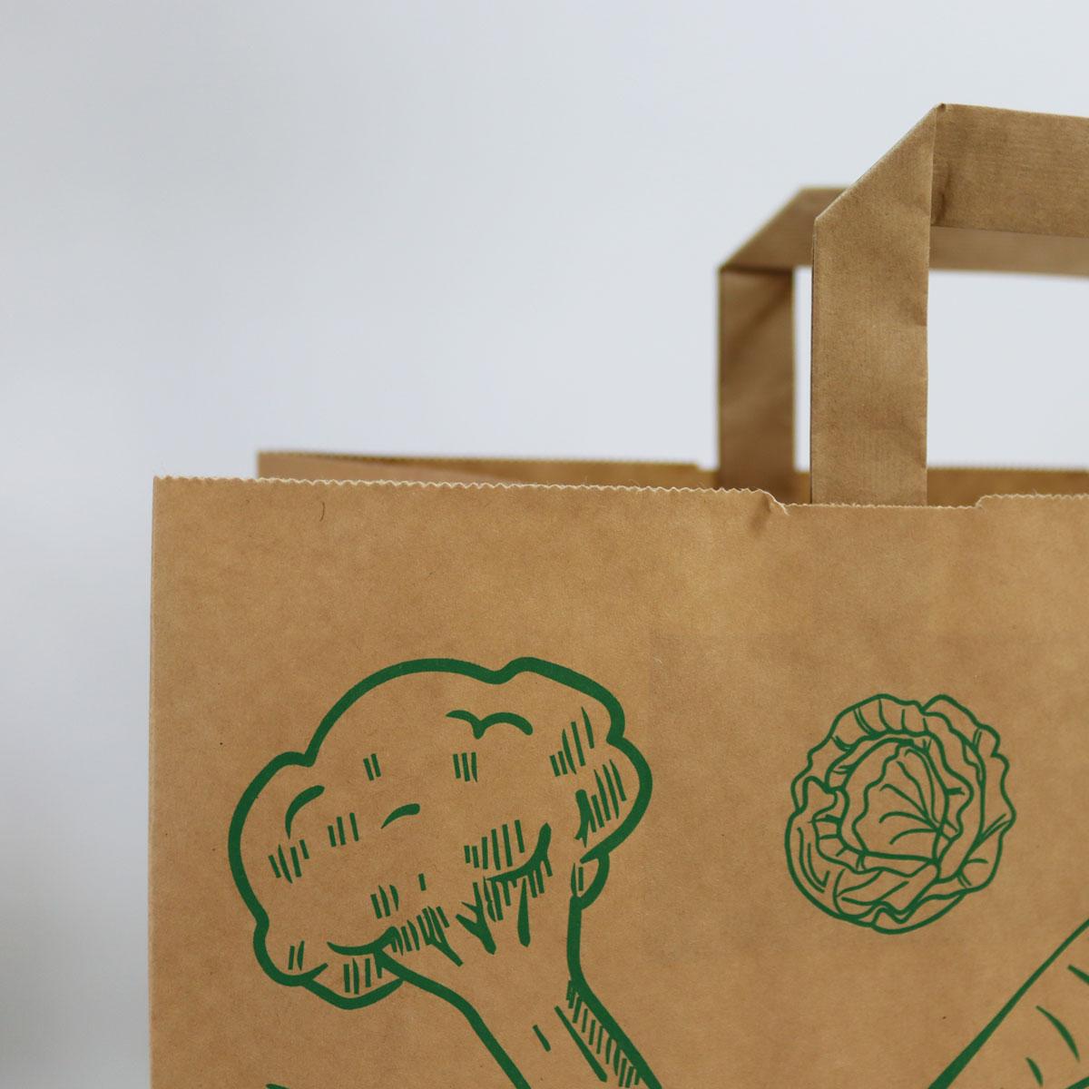 Kraft tassen FSC® - Groente