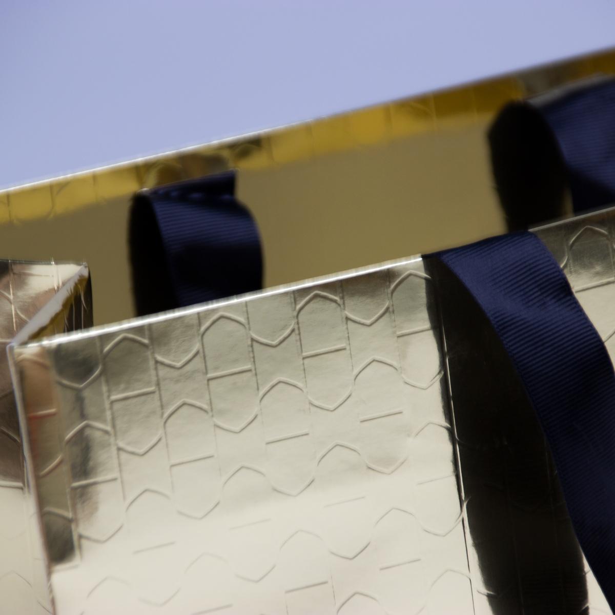Luxe metallic papieren tassen