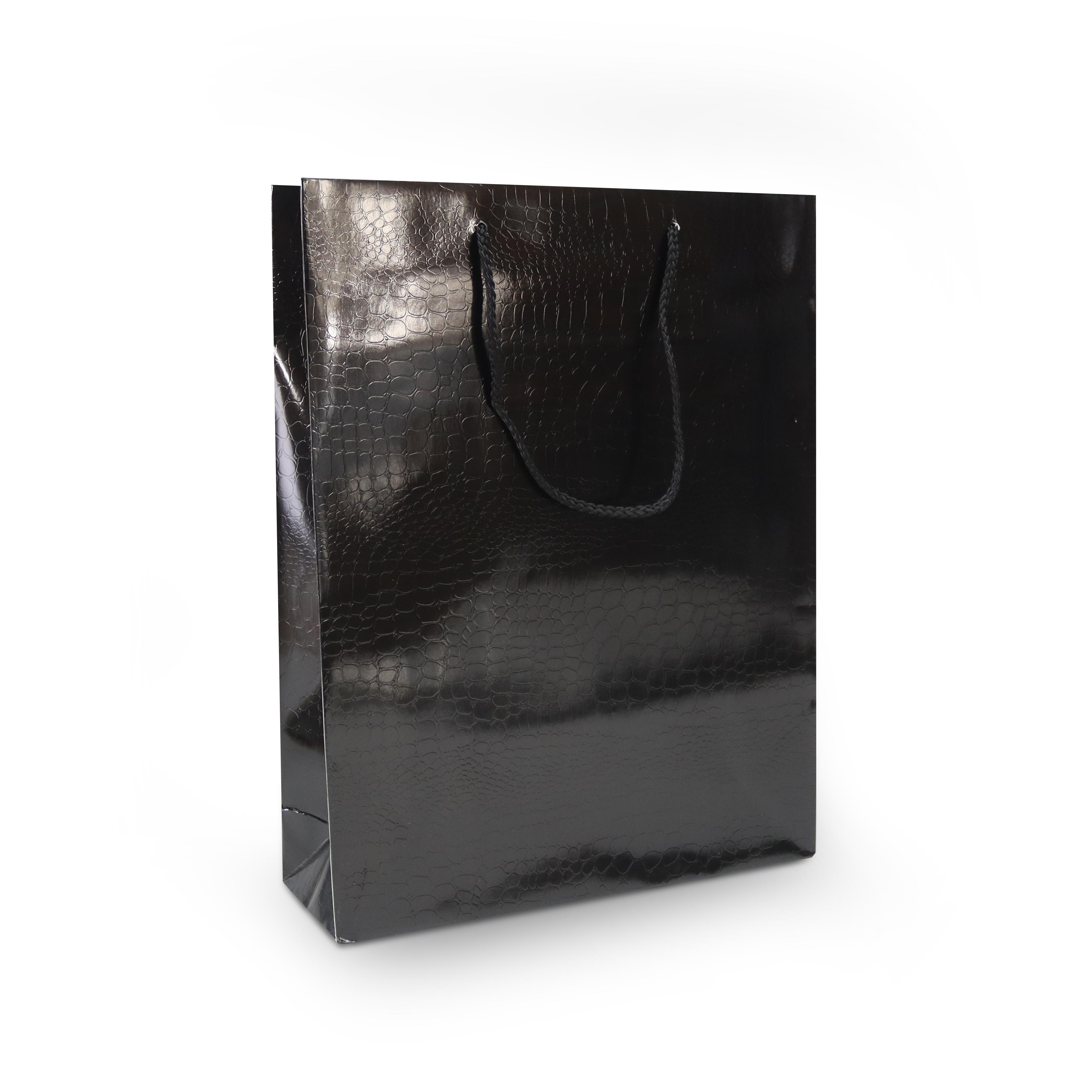 Luxe papieren tassen - Croco structuur