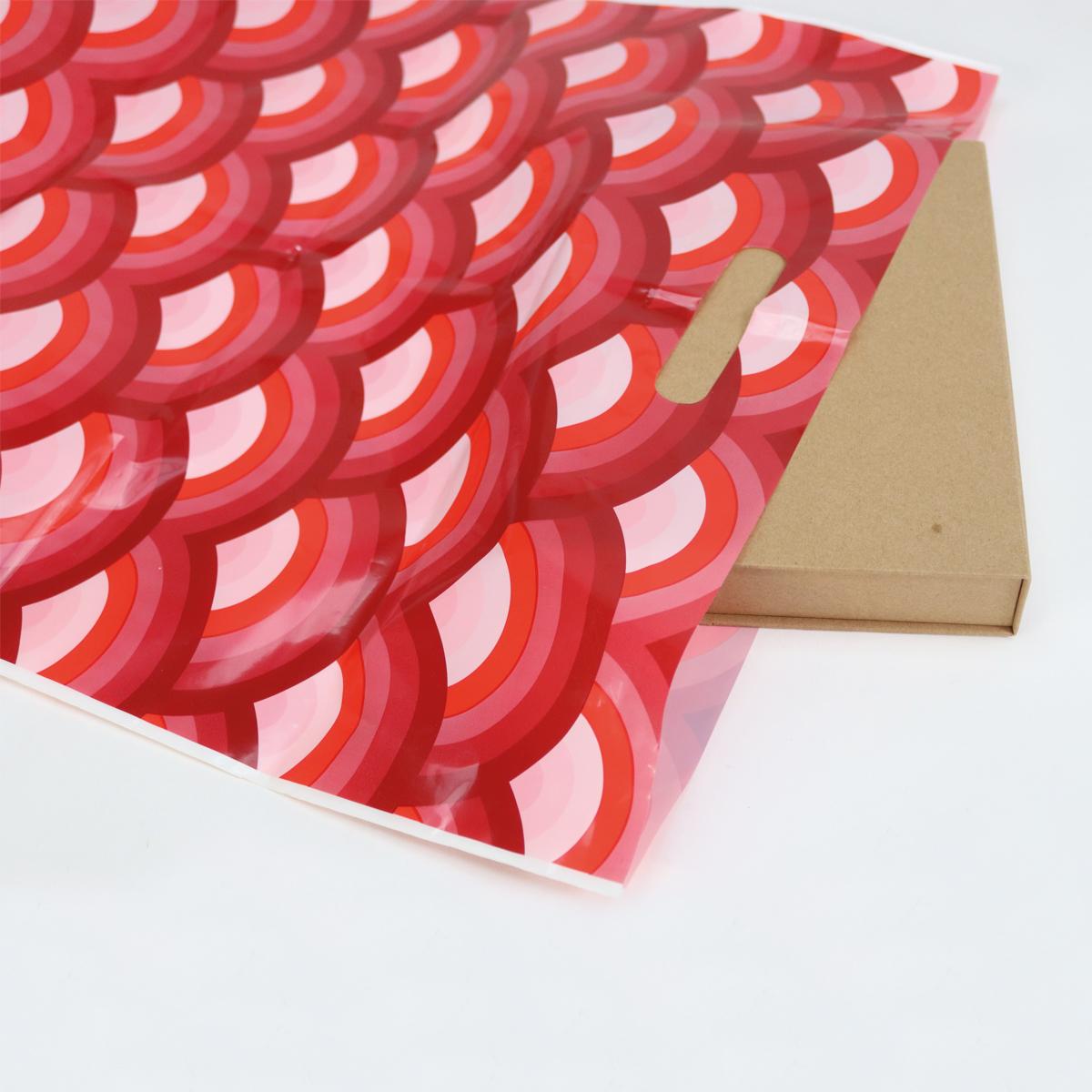 Budget plastic tassen - Regenboog