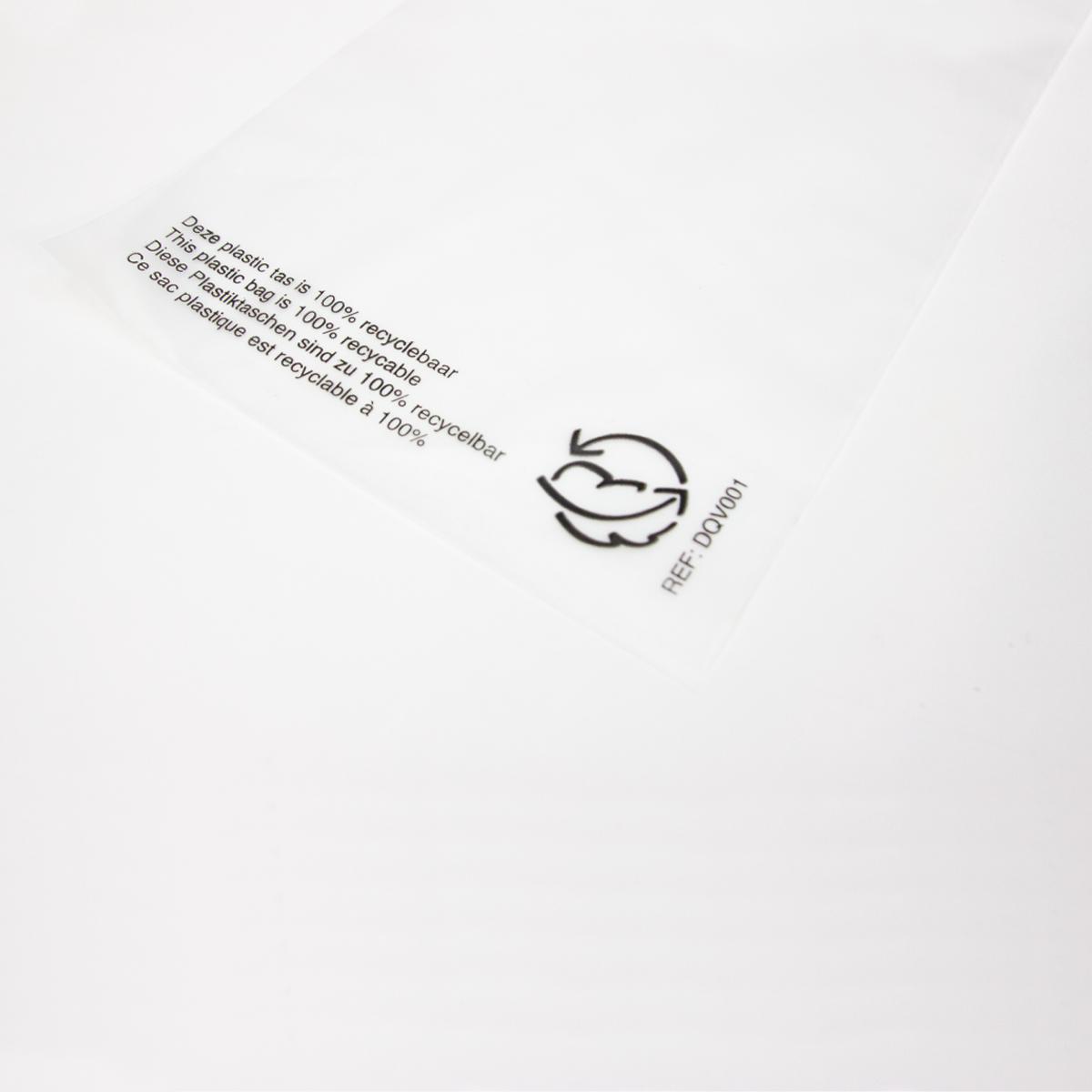 Plastic paraplutassen - Semi transparant