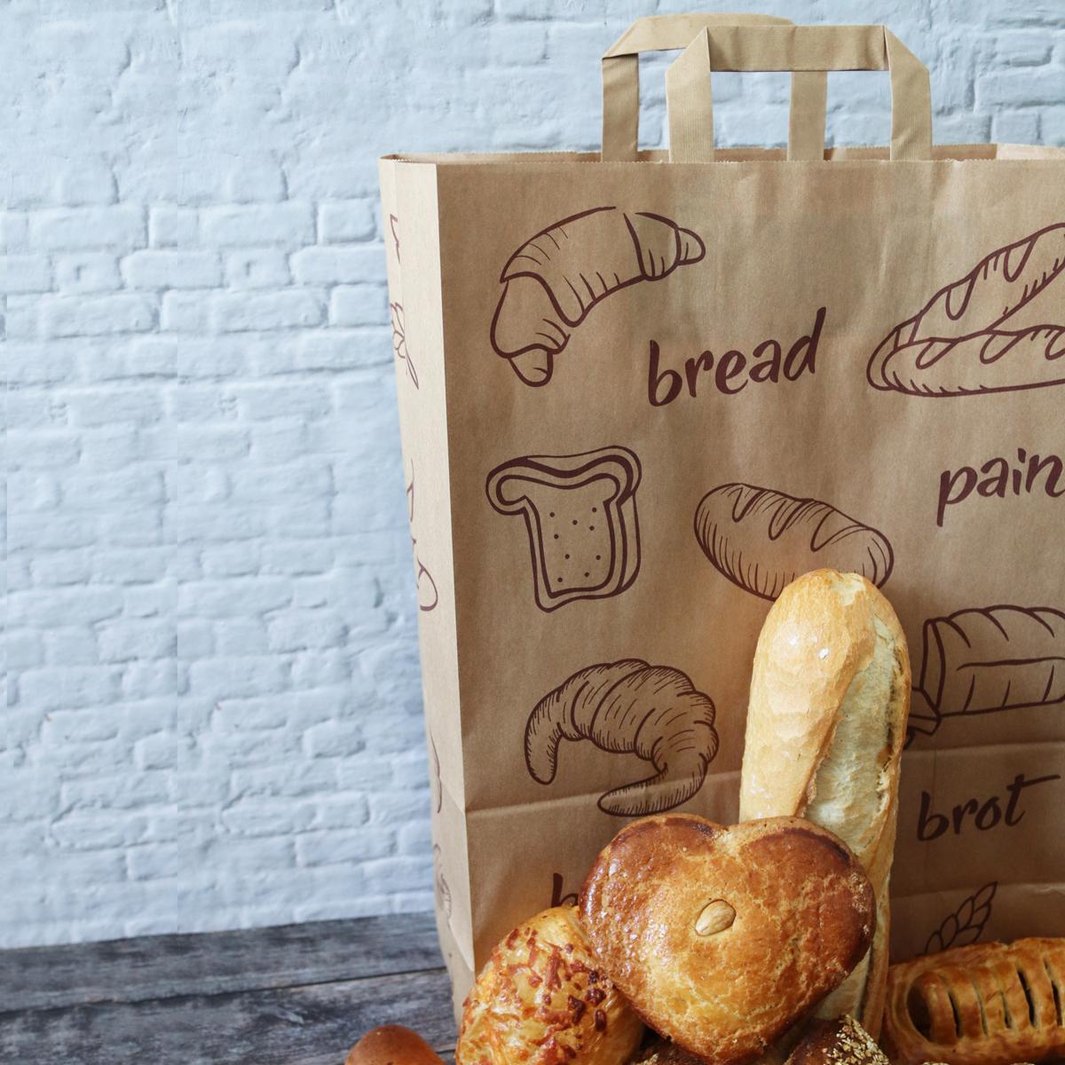 Kraft tassen FSC® - Brood