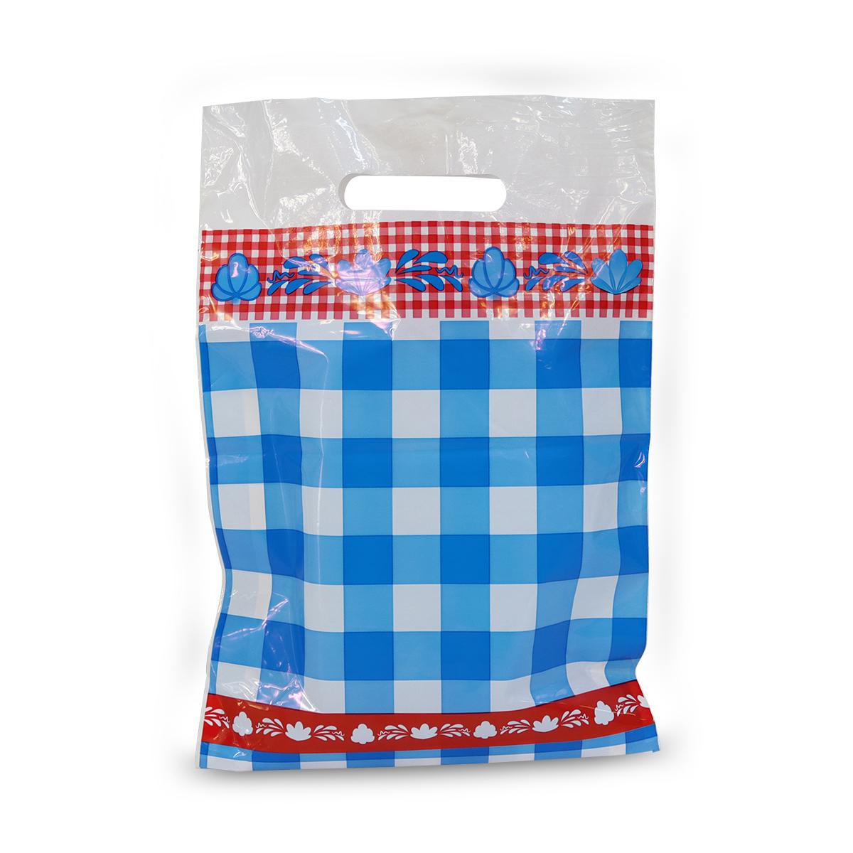 Budget plastic tassen - Boerenbont