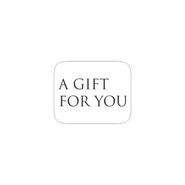 Etiketten - A gift for you