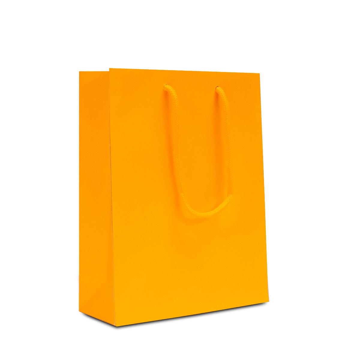 Luxe papieren tassen - Fluor mat