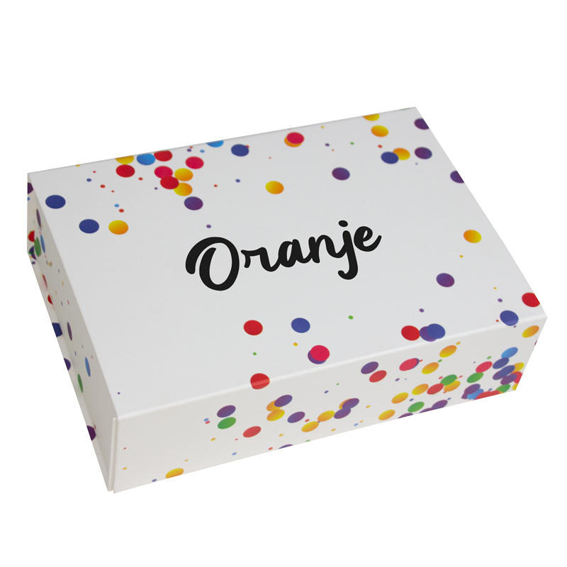 ConfettiDoos-Oranje