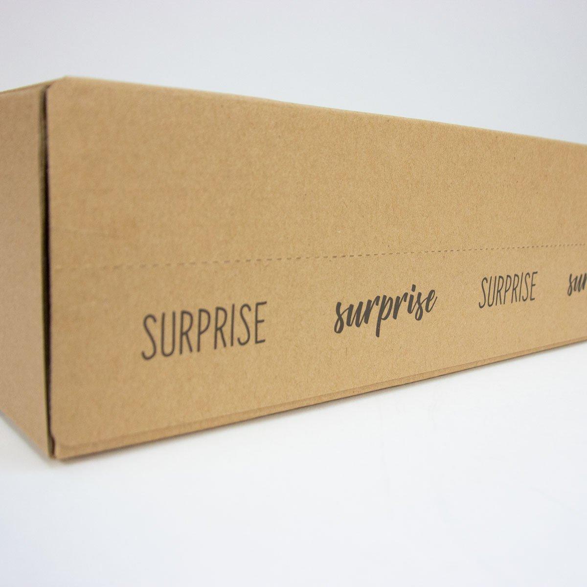 Verzenddozen met retourstrip - Surprise
