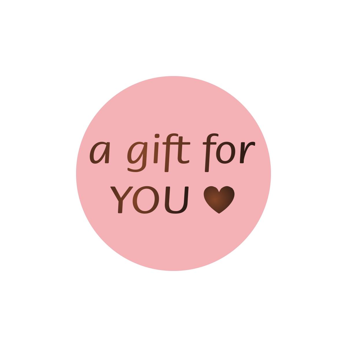 Etiketten - A gift