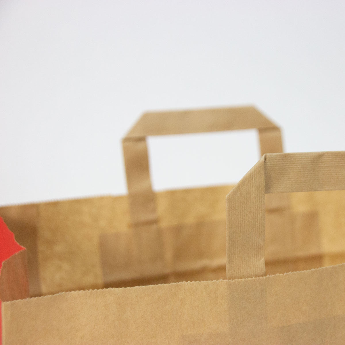 Papieren take away tassen - Enjoy bruin