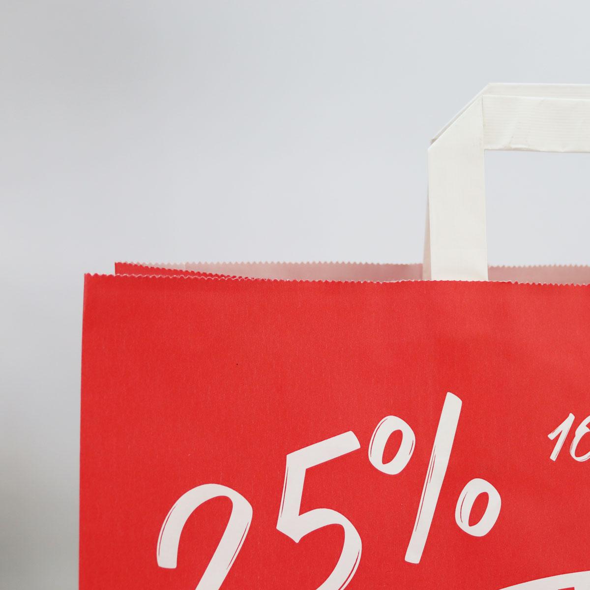 Kraft tassen FSC® - Sale