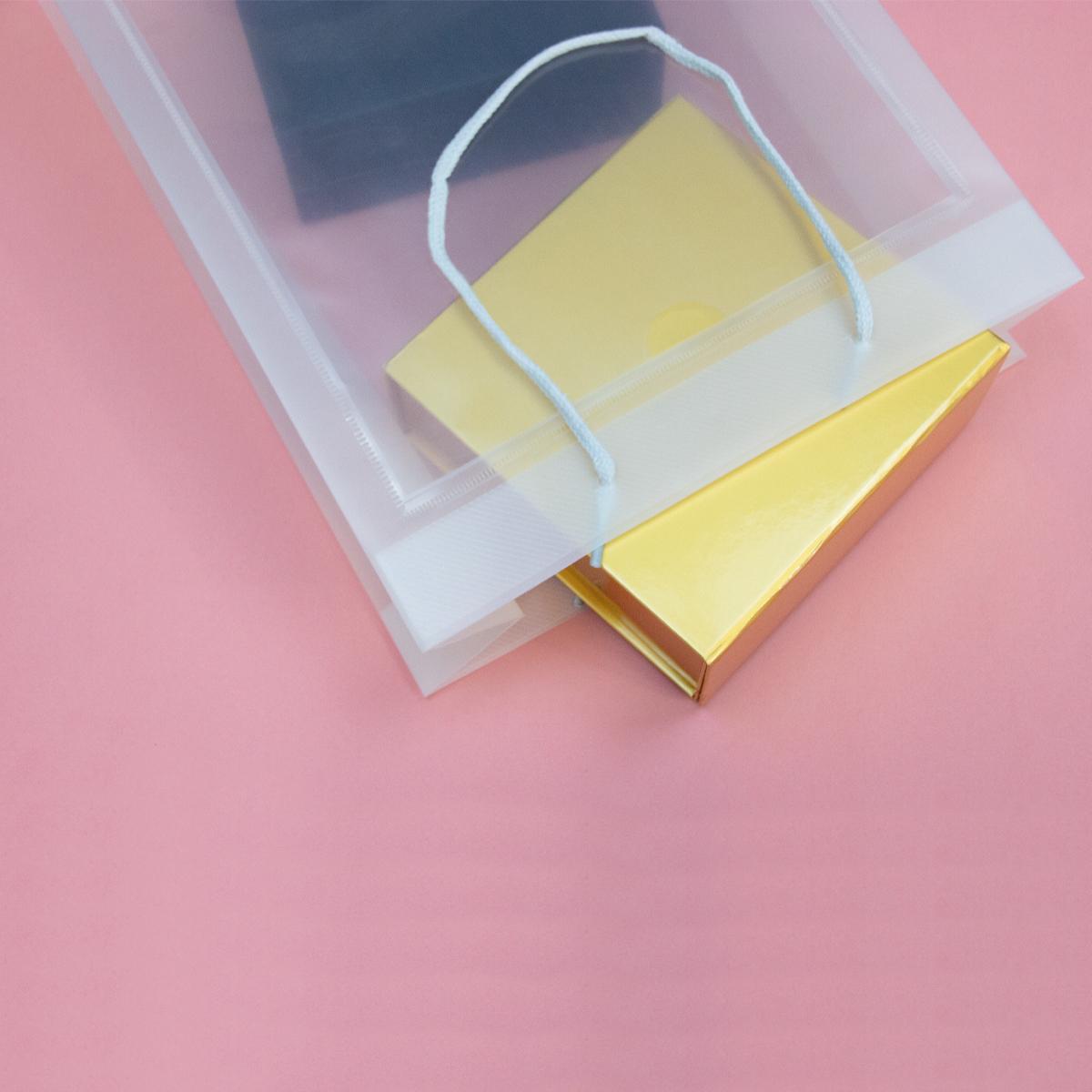 Luxe plastic venstertassen met A4/A5 insteekvenster