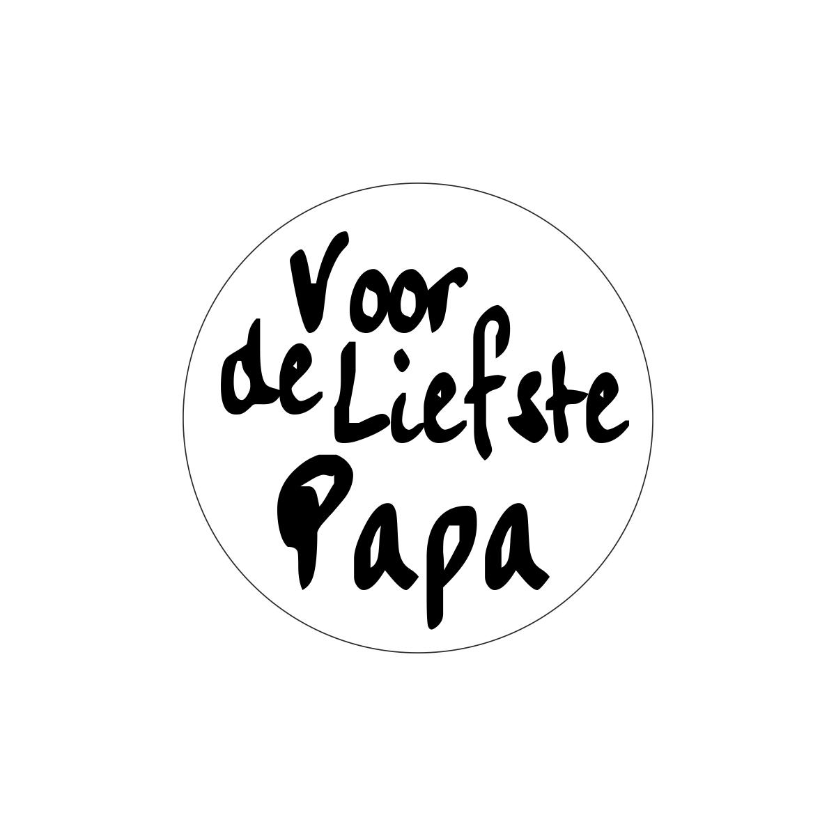 Etiketten - Voor de liefste papa
