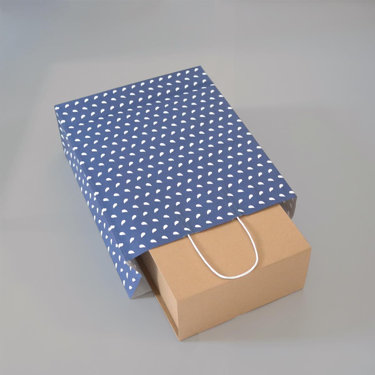 Twisted papieren tassen - Wave
