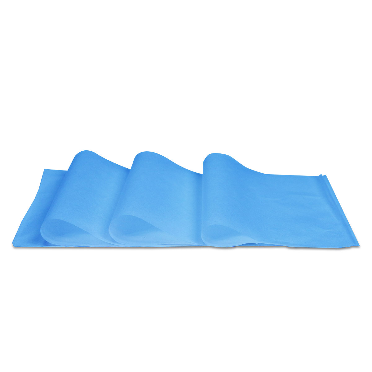 Vloeipapier-effen-turquoise