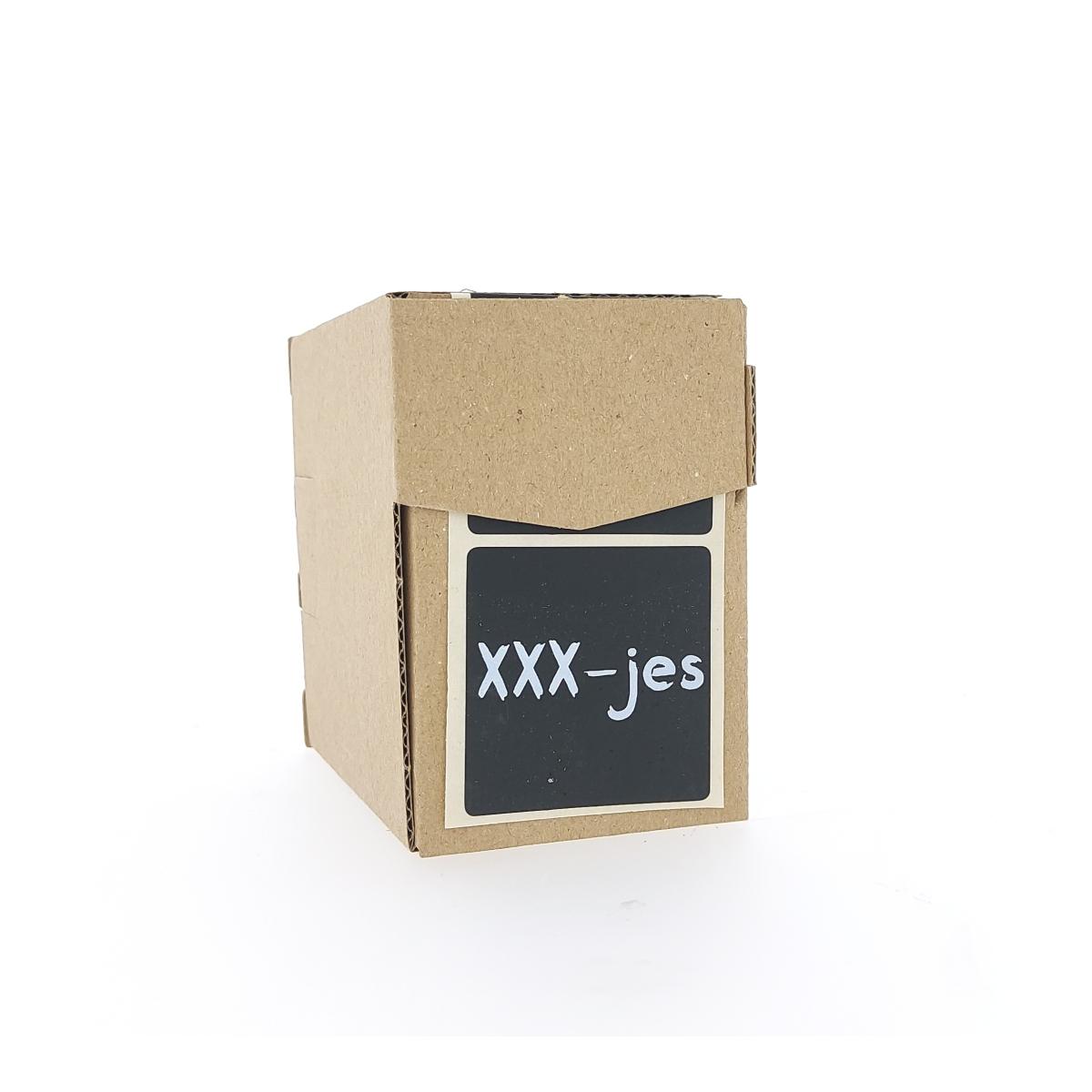 Etiketten - XXX-jes
