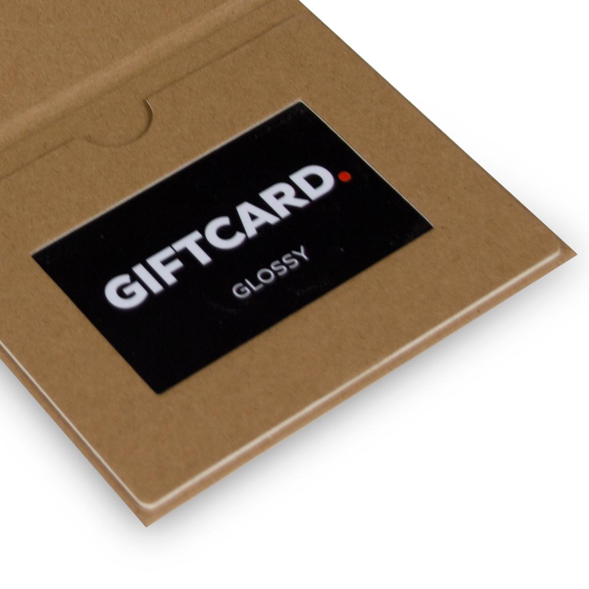 Giftcard mapjes - Kraft