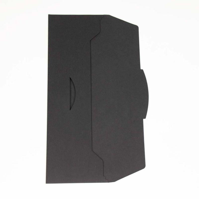 Stropdasenvelop-tieenvelope-zwart-open