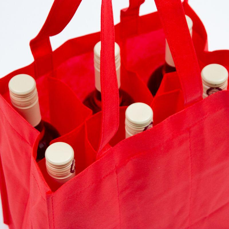 Nonwovenwijnflestassen-nonwovenwinebags-red-detail