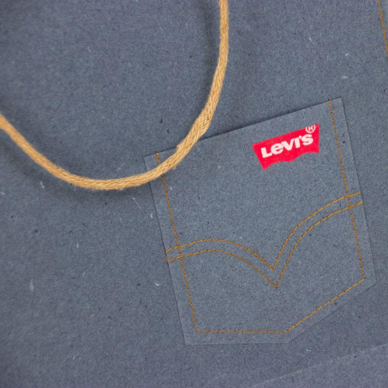 Papierentassen-paperbags-Levis-detail-3