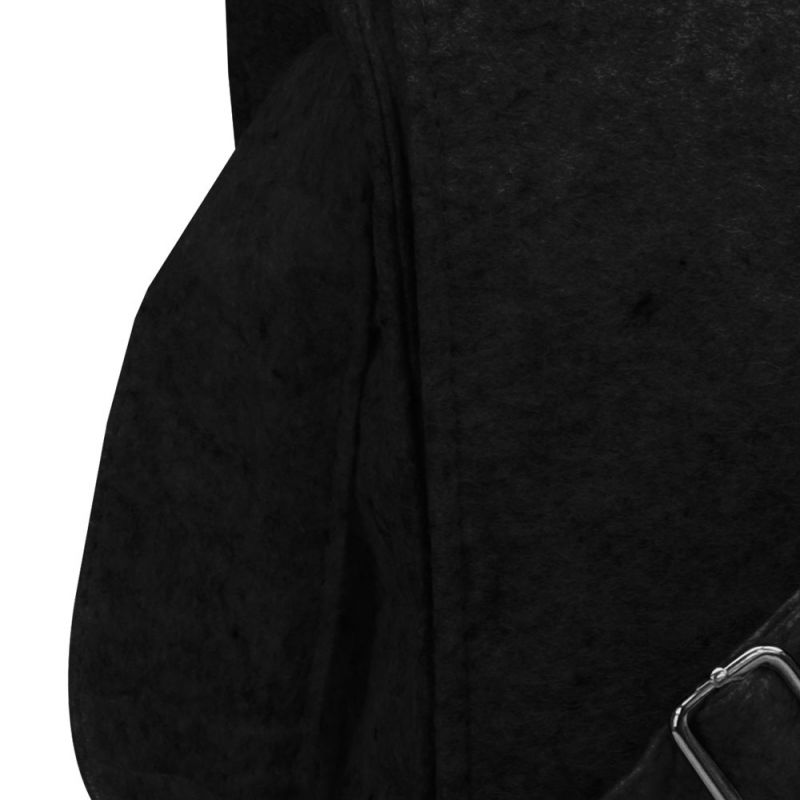 Viltenschoudertas-zwart-detail